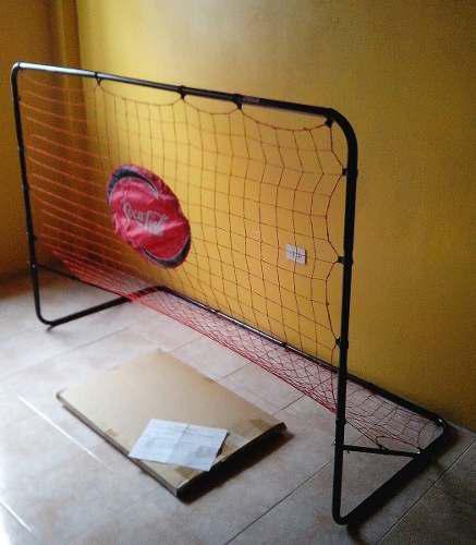 Arqueria Expandible De Aluminio Con Malla Y Balon De Futbol