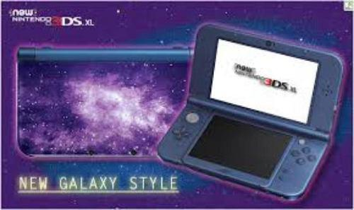 Consola new nintendo 3ds xl galaxy style
