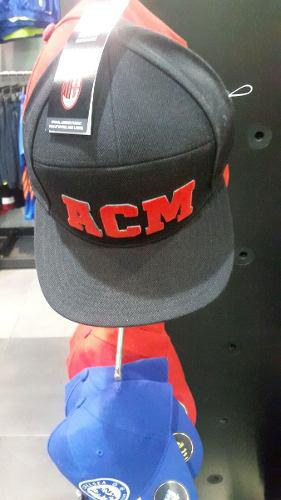 Gorra cachucha adidas ac milan fitted cap d64f7bbab97