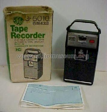 Grabador y reproductor de cassette portatil general electric
