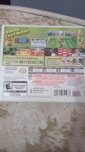 Juego Original Para Nintendo 3ds Mario Tennis Open