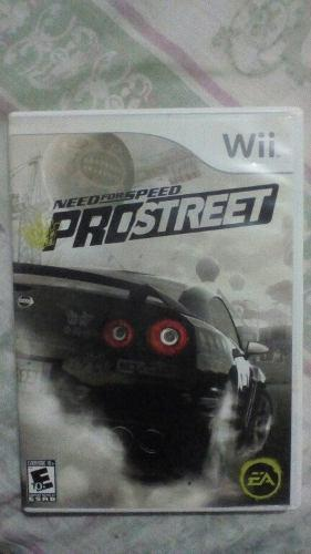 Juego Wii Need For Speed Pro Original