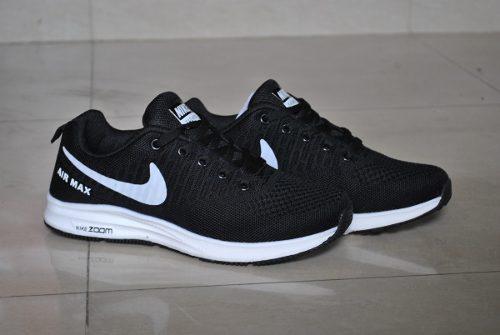 Kp3 zapatos nike air zoom negro blanco unisex