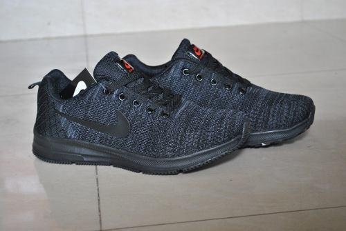 Kp3 zapatos nike air zoom negro completo unisex