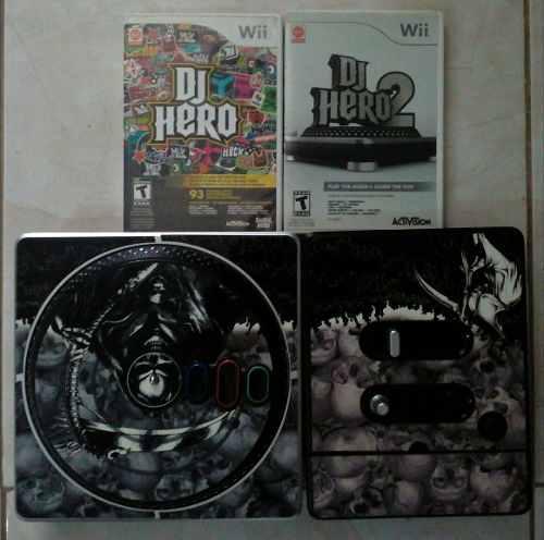 Oferta Consola Dj Hero Mas 2 Juegos.