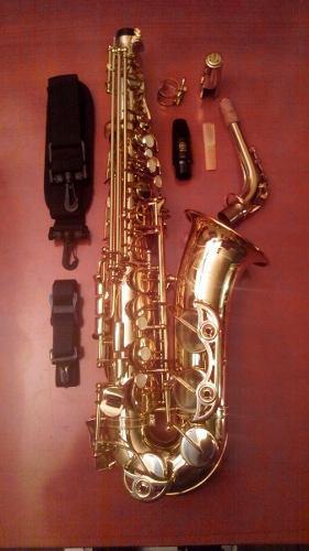 Saxofon Alto Yamaha Yas 62 Japones