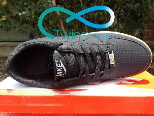 Zapatos deportivos nike air force one negro miel 2017 import