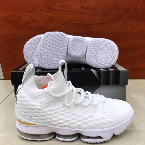 mirada detallada dc447 8dffd Zapatos Deportivos Nike Lebron James Xv 15 Para Caballero