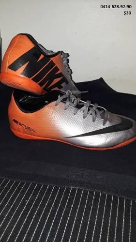 Zapatos futbol sala talla nike mercurial 38.5 usados 82ee1e56c88f4
