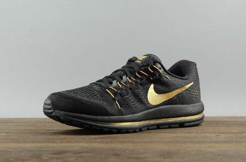 Zapatos nike air zoom 100% originales black gold 2018
