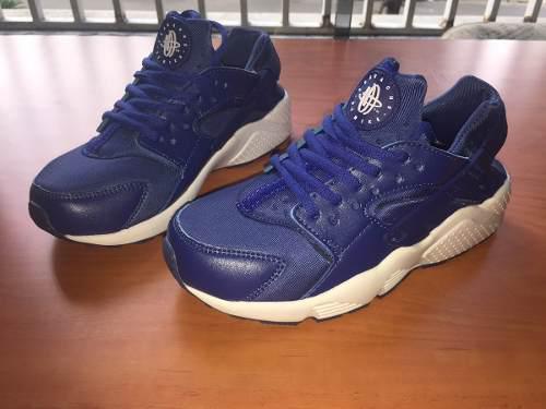 Nike Huarache Negros Con Rojo Ropa, Zapatos y Accesorios