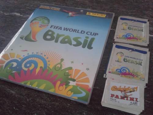 Album brazil 2014 + forro en perfectas condiciones!!!