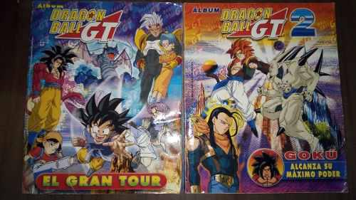 Album dragon ball gt 1 y 2 de navarrete 2001