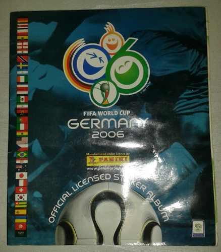 Album panini mundial alemania 2006