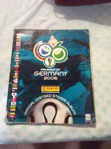 Album panini mundial alemania 2006 lleno