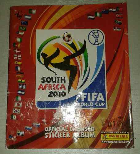 Album panini mundial de futbol surafrica 2010