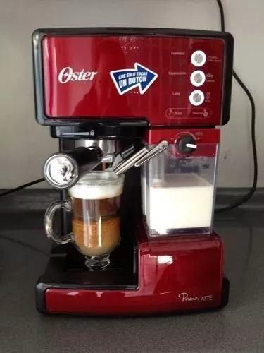 Cafetera automática espreso primalatte oster 6601