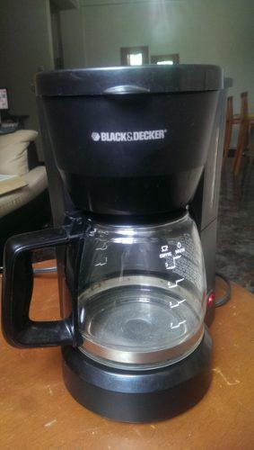 Cafetera black and decker 5 tazas
