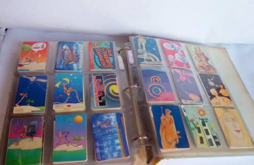 Colección de tarjetas telefónicas cantv, movilnet y unica