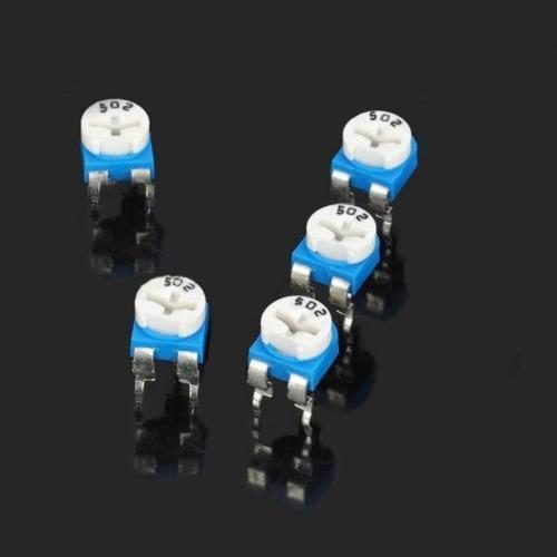 Electronica pieza resistor 5 repuesto 0.1w 50v 04kj