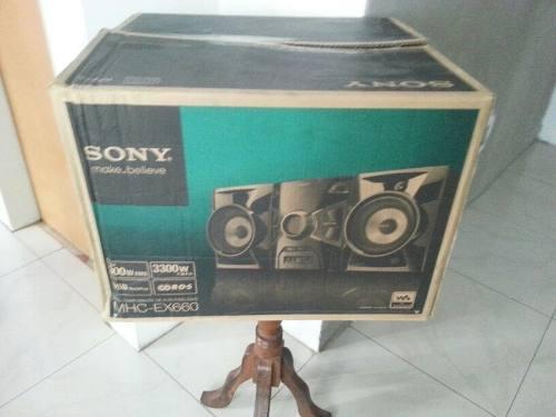 Equipo de sonydo sony genezi mch-ex660