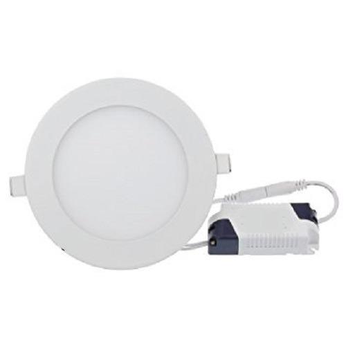 Lampara led panel 9w redonda empotrar luz blanca