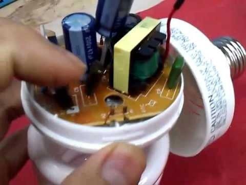 Manual de bombillos ahorradores como repararlos