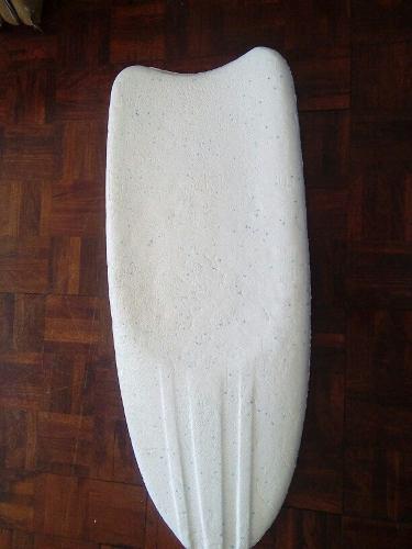 Tabla de surf de anime color blanco como nueva