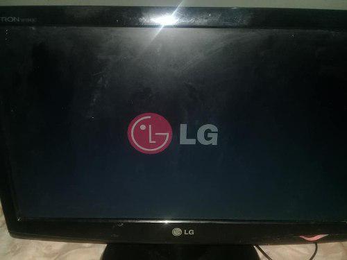 Monitor de 19 pantalla plana lg flactron usado si hay