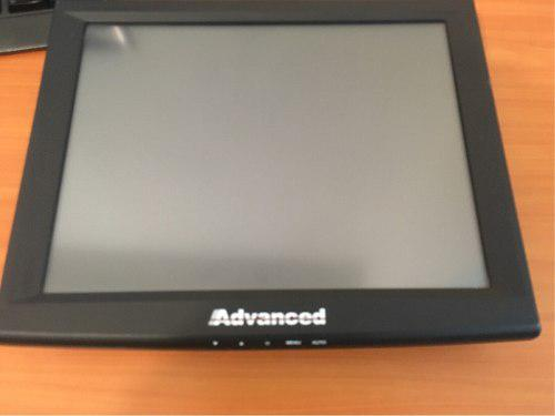 Monitor touch screen advance 17 negro usb