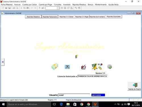Sistema administrativo para farmacias licencia original