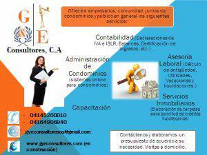 Administracion de condominio (g&e consultores