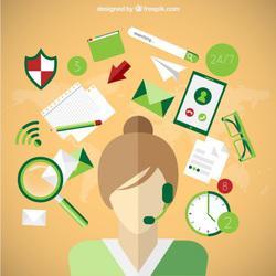 Asistente virtual ofrecemos servicios de asistencia,