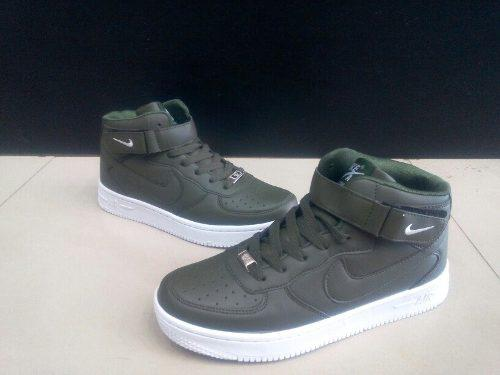 01483468730 Botas nike air force one verdes para caballero 40 a 45