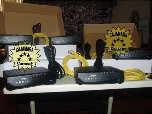 Cable modem intercable arris cm820a (importado de ee)