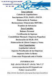 Capacitacion y consultoria d & m