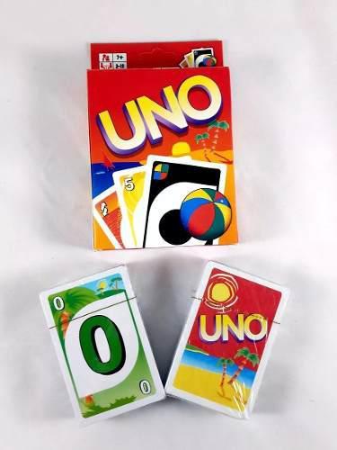 Cartas uno playera juego de mesa niños juguete buena