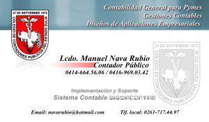 Contador publico independiente / analista programador