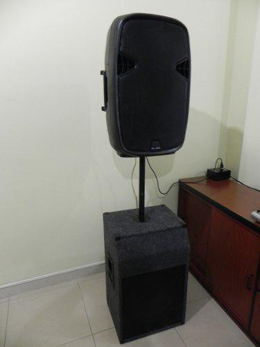 CORNETA AMPLIFICADA SOUND BARRIER 15 900 W NXA51 MAS PASIVA segunda mano  Naguanagua (Carabobo)