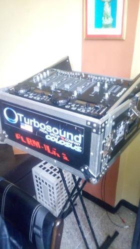 Equipo dj + bajos + denon + cornetas bajos sps de 15 amplifi
