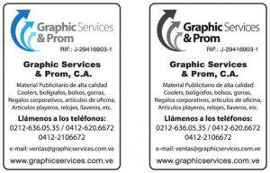 Graphic services & prom c.a
