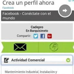 Limpieza industria, mantenimiento industrial. cadepro