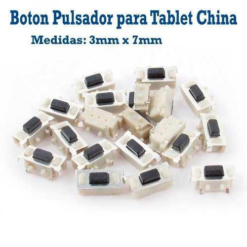 Pulsador interno encendido volumen tablet dragon touch y88x