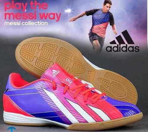 c05fa4baec39f Zapatos de futbol sala o futsal adidas messi f10
