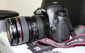 Canon eos 5d mark iii dslr kit de cámara con canon 24