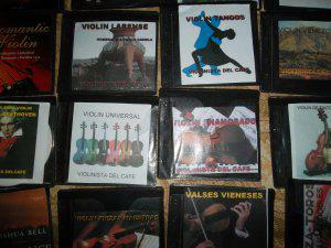 Cds de música instrumental de violín