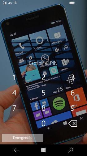 Celular nokia lumia 640 lte