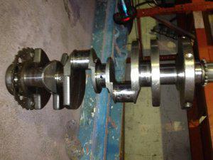 Cigüeñal motor vortec 5.3 silverado