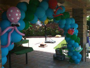 Curso de globos y decoracion de fiestas