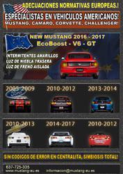 Ford mustang camaro corvette jeep homologaciones europa